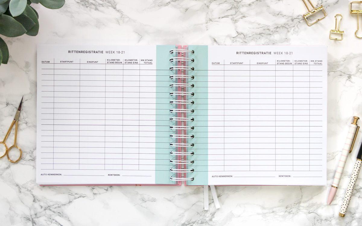 Flow Planners rittenregistratie groen