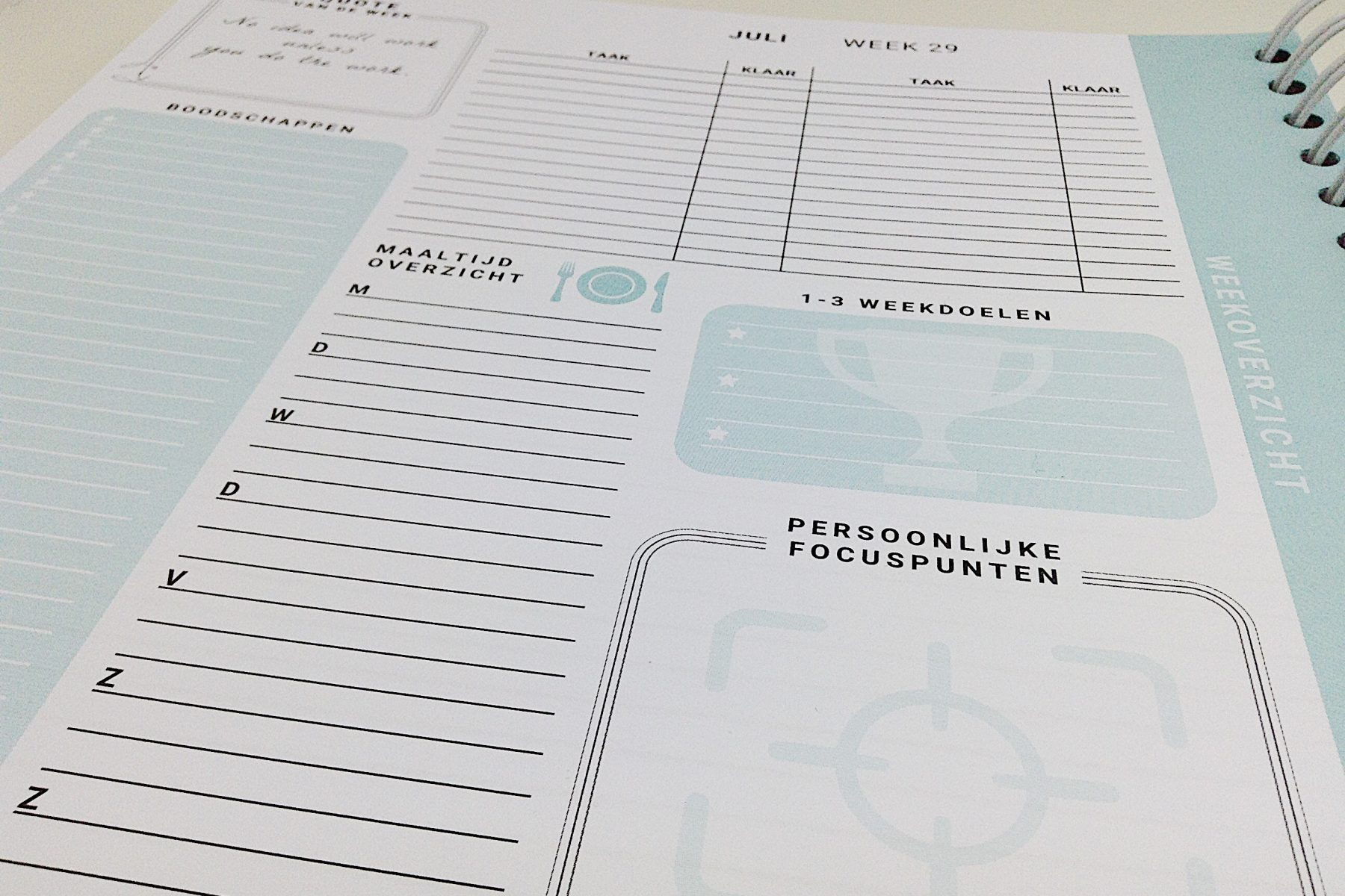 Review Flow Planners | Slowfoody