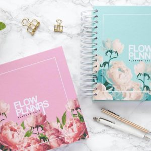 Flow Planners - Planner 2019 - Pink & Mint