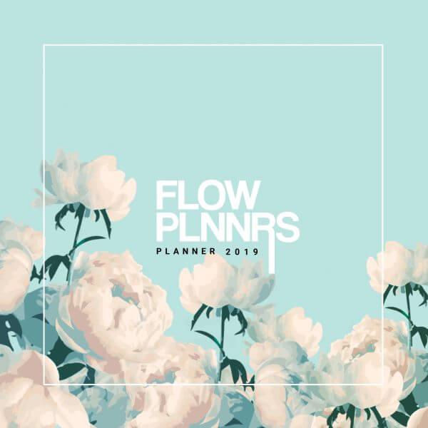 Planner 2019 Mint Floral
