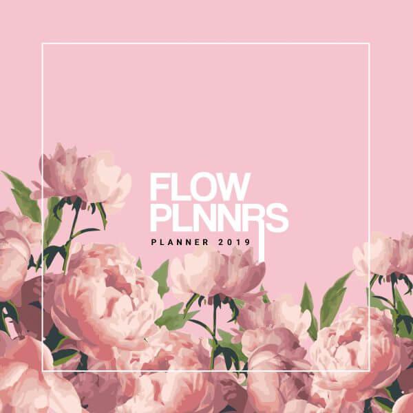 Planner 2019 Pink Floral