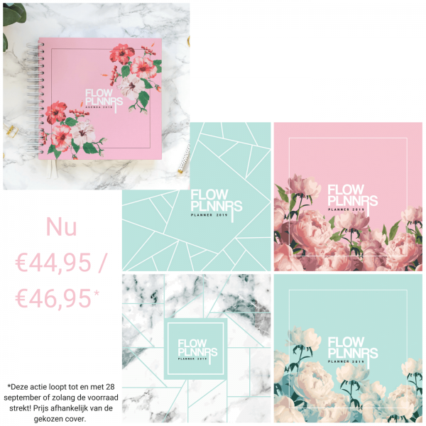 Flow Planners - Combinatie Deal - Planner 2018 + Planner 2019