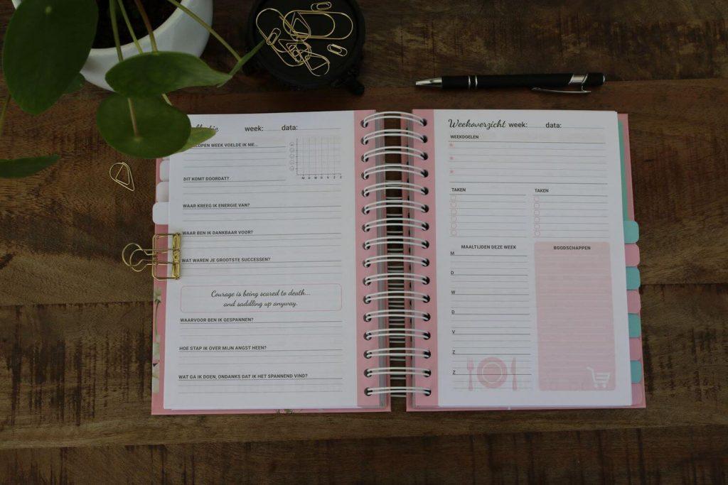 Verschil agenda planner